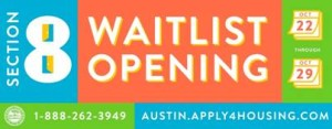 Section 8 waiting list logo 2014